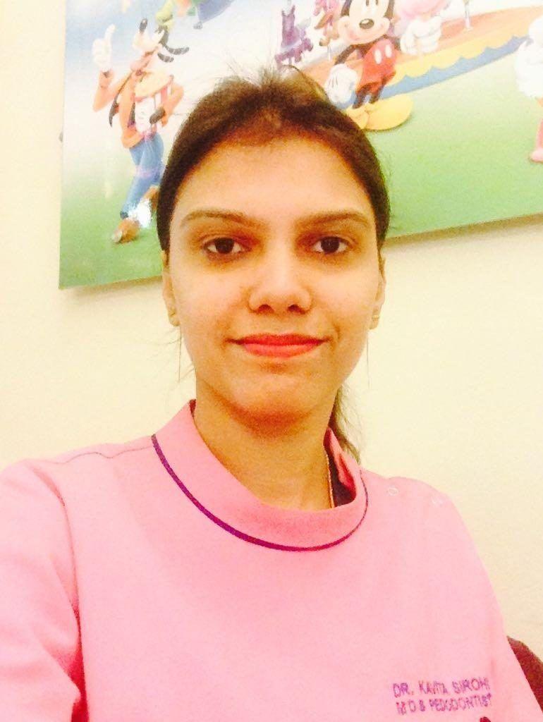 Dr Kavita - Pediatric Dentist